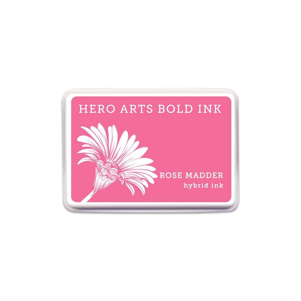 Hero Arts Bold Ink Pad, Rose Madder -