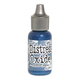 Ranger Distress Oxide Reinker, Faded Jeans -
