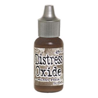 Ranger Distress Oxide Reinker, Walnut Stain -