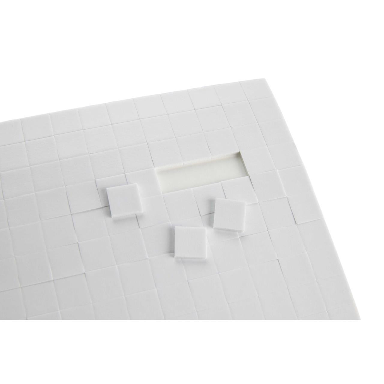 X-Press It Foam Mounting Squares, 1/2 x 1/2 -