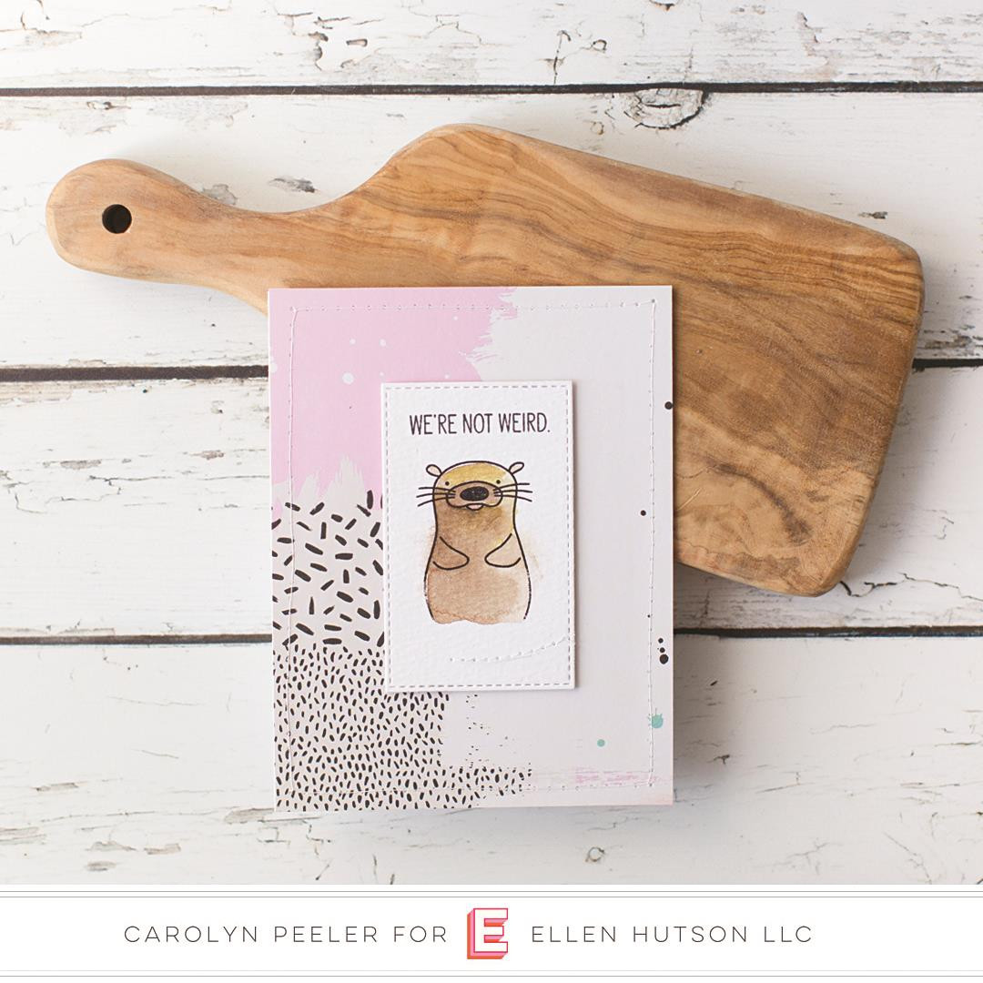 Otterly Awesome By Julie Ebersole, Essentials By Ellen Clear Stamps -