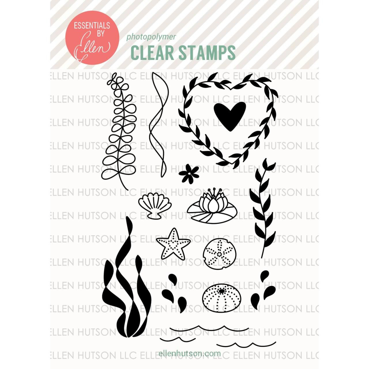 Essentials By Ellen Clear Stamps, Otter Ware By Julie Ebersole -