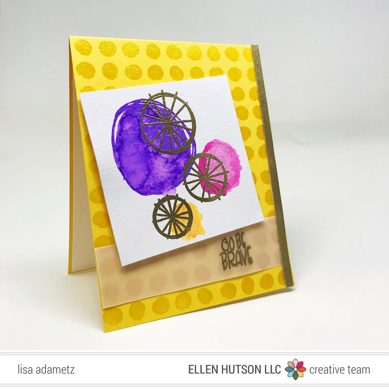 Wonky Backdrops By Julie Ebersole, Essentials By Ellen Clear Stamps -