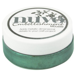 Tonic Nuvo Embellishment Mousse, Seaspray Green -