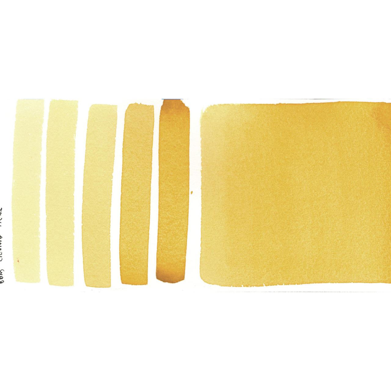 Raw Sienna Light, DANIEL SMITH Extra Fine Watercolors 15ml Tubes - 743162033355