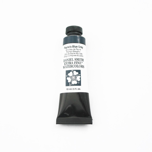 DANIEL SMITH Extra Fine Watercolors 15ml Tubes, Payne's Blue Gray - 743162033379