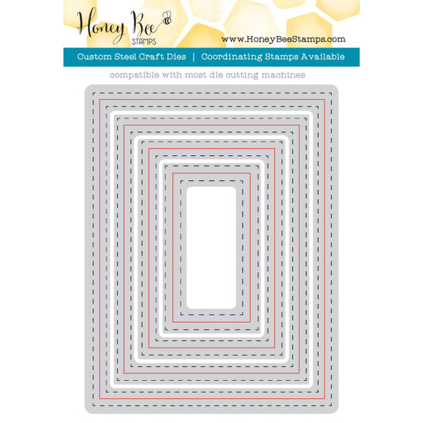 Honey Cuts Dies, A2 Double Stitched Frames - 651973563988