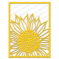 Impression Obsession Dies, Sunflower Background - 848099066619