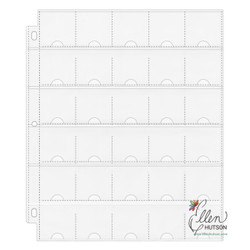 Penny Black PB40676 Cling Stamps-A Floral Twist 3X6.2