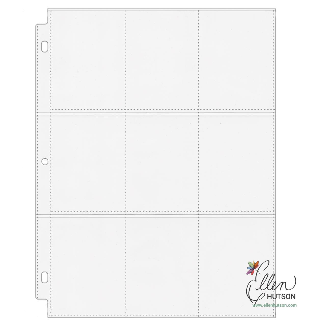 Essentials by Ellen 9-Pocket Pages, 10pk -