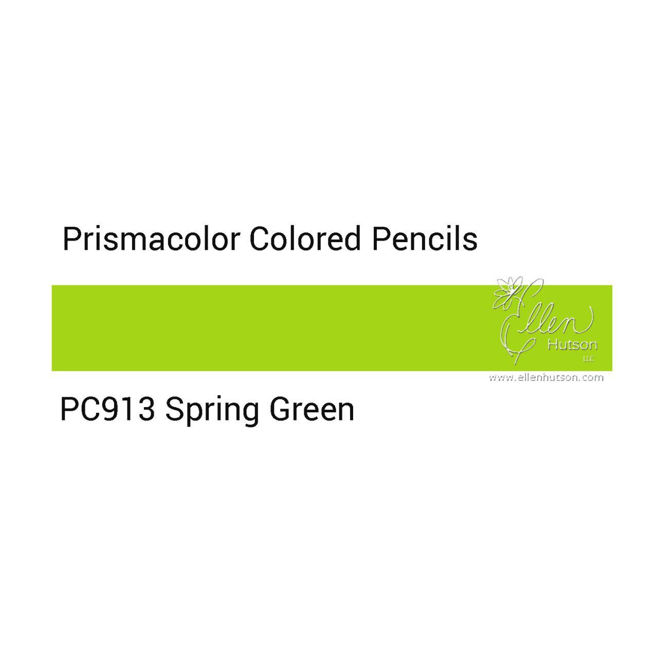 Prismacolor Premier Colored Pencils, Spring Green PC913 - 070735033444