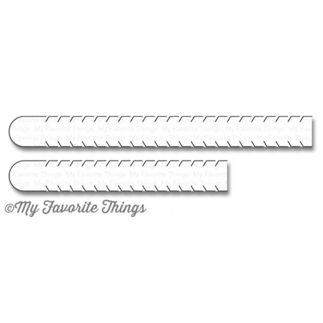 My Favorite Things Die-Namics, Essential Sentiment Rip Strips - 849923017548