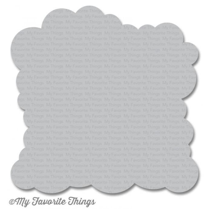 My Favorite Things Stencils, Cloud - 849923017388