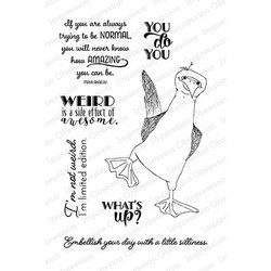 Impression Obsession Clear Stamps, Blue Footed - 848099068897