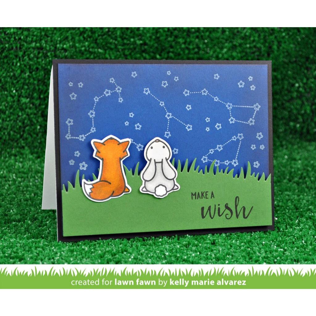 Lawn Fawn Clear Stamps, Upon A Star - 035292667815