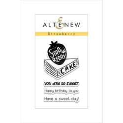 Strawberry, Altenew Clear Stamps -