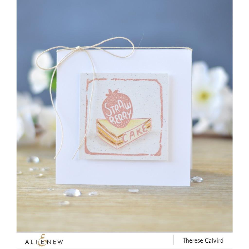 Strawberry, Altenew Clear Stamps -