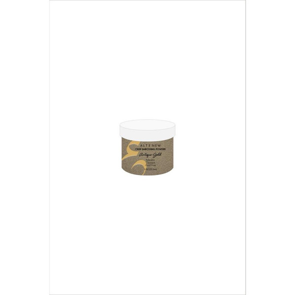 Antique Gold, Altenew Crisp Embossing Powder - 641938493405
