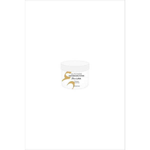 Altenew Crisp Embossing Powder, Pure White - 641938493627