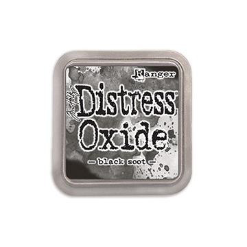 Ranger Distress Oxide Ink Pad, Black Soot - 789541055815