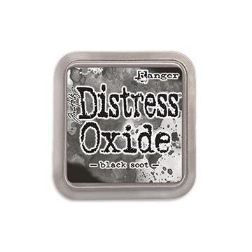 Ranger Distress Oxide Ink Pad, Black Soot - 789541055815