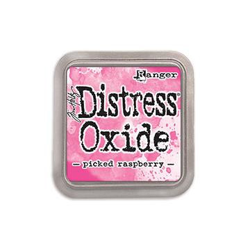Ranger Distress Oxide Ink Pad, Picked Raspberry - 789541056126