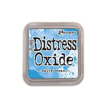 Ranger Distress Oxide Ink Pad, Salty Ocean - 789541056171