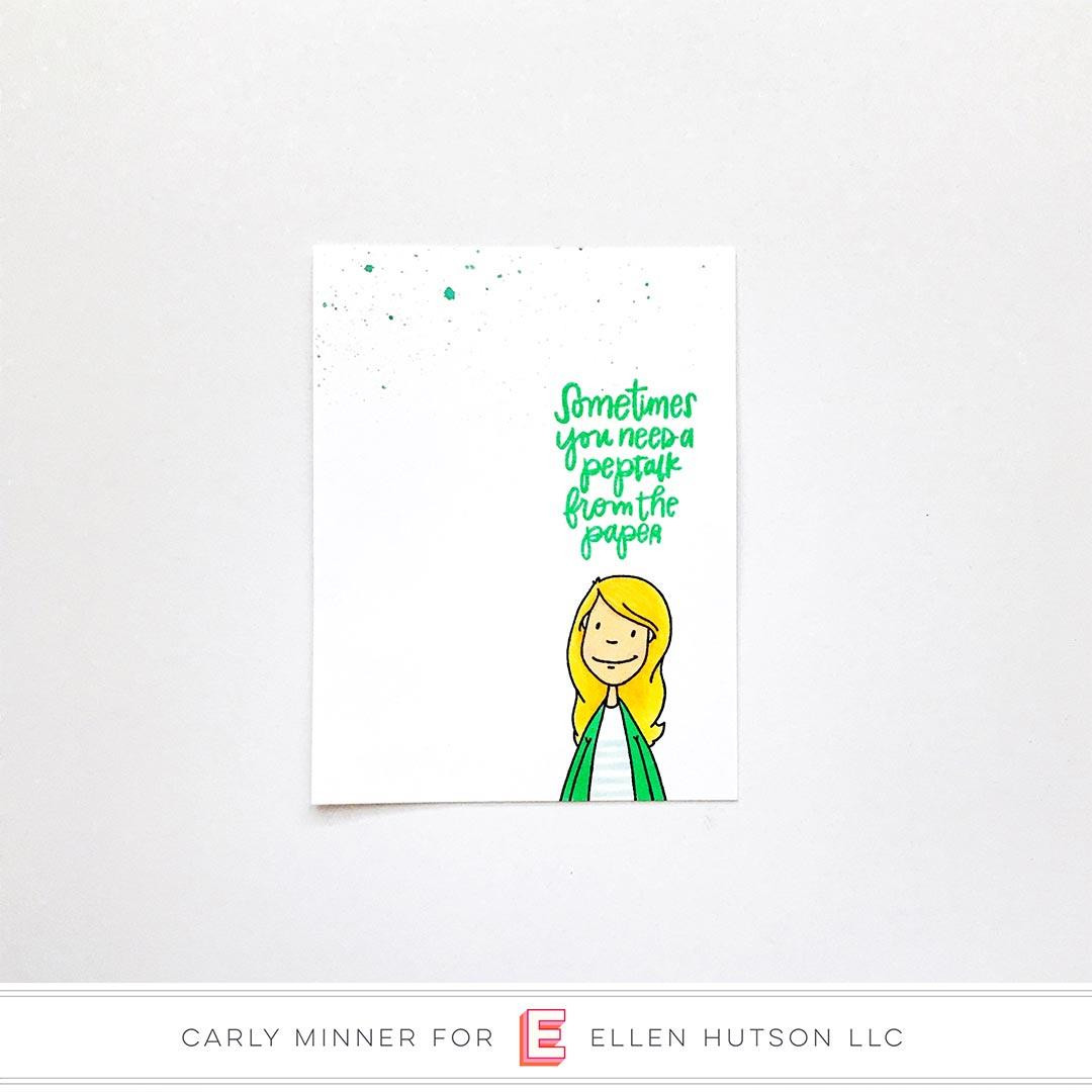 Essentials by Ellen Clear Stamps, Leading Ladies - Crafty Lady by Brandi Kincaid -