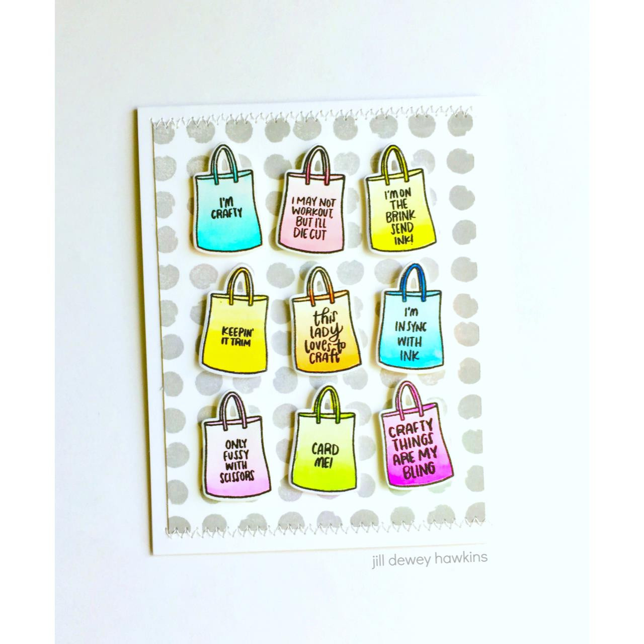 Leading Ladies - Crafty Lady by Brandi Kincaid, Essentials by Ellen Clear Stamps -