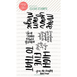 Essentials by Ellen Clear Stamps, Crafty Ladies Say by Brandi Kincaid -