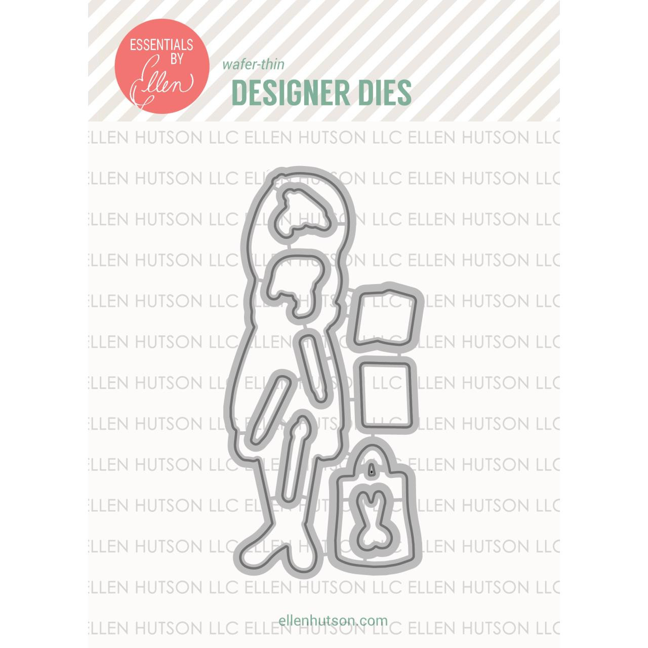 Essentials by Ellen Designer Dies, Leading Ladies - Crafty Lady by Brandi Kincaid -