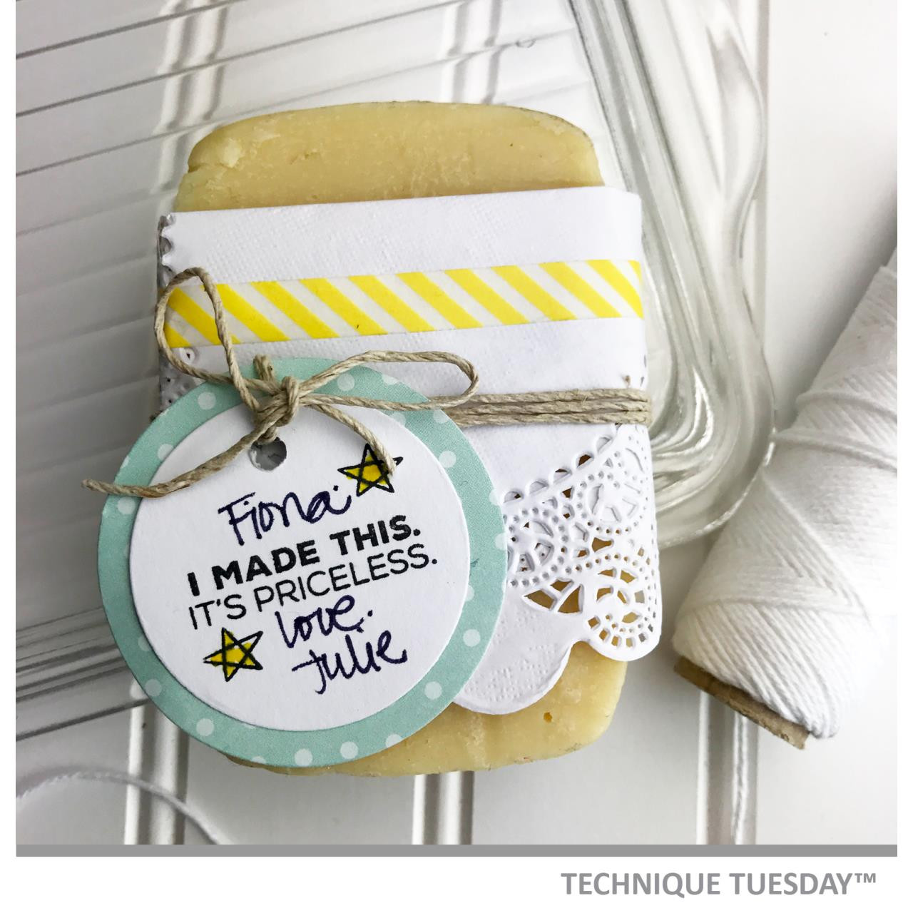 Technique Tuesday Clear Stamps, It's A Masterpiece - 811784024980