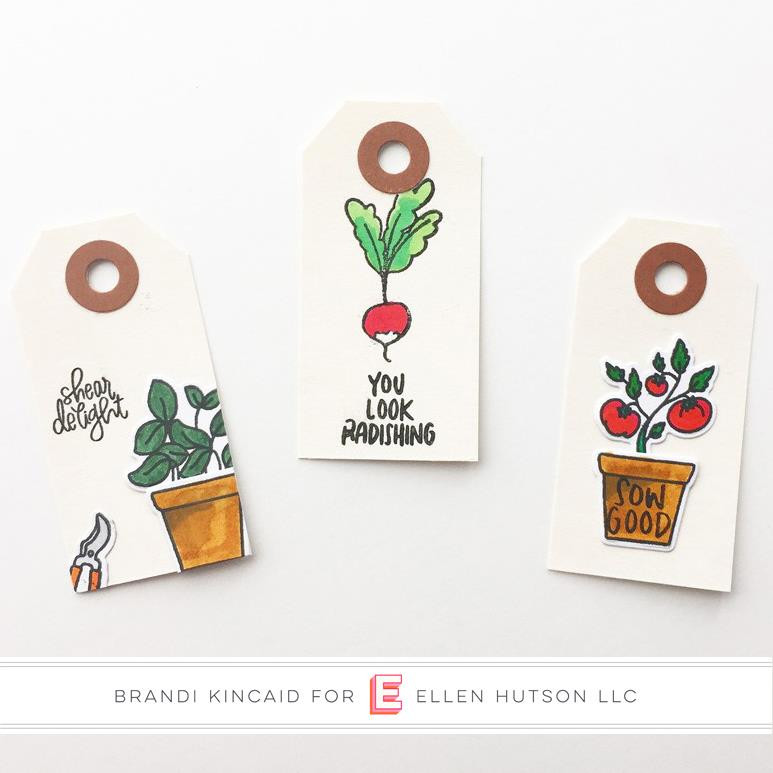 Leading Ladies - Plant Lady by Brandi Kincaid, Essentials By Ellen Clear Stamps -