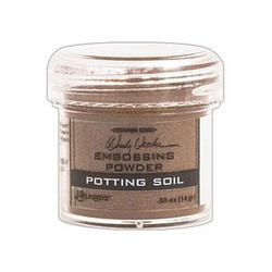 Ranger Embossing Powder, Potting Soil by Wendy Vecchi -