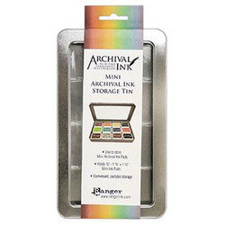 Ranger Mini Archival Ink Storage Tin -