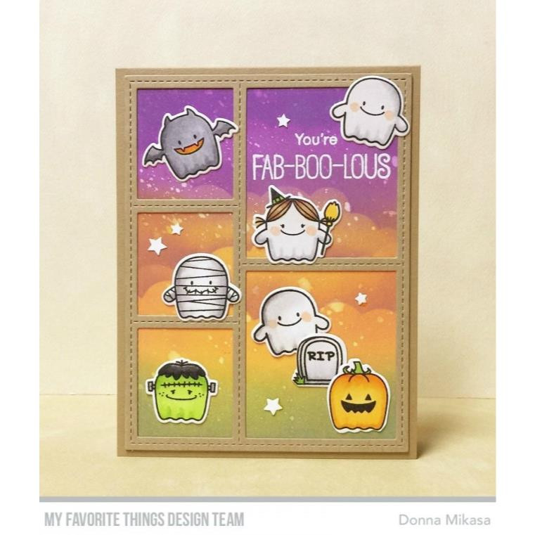 My Favorite Things Die-Namics, Stitched Collage Frame - 849923021613