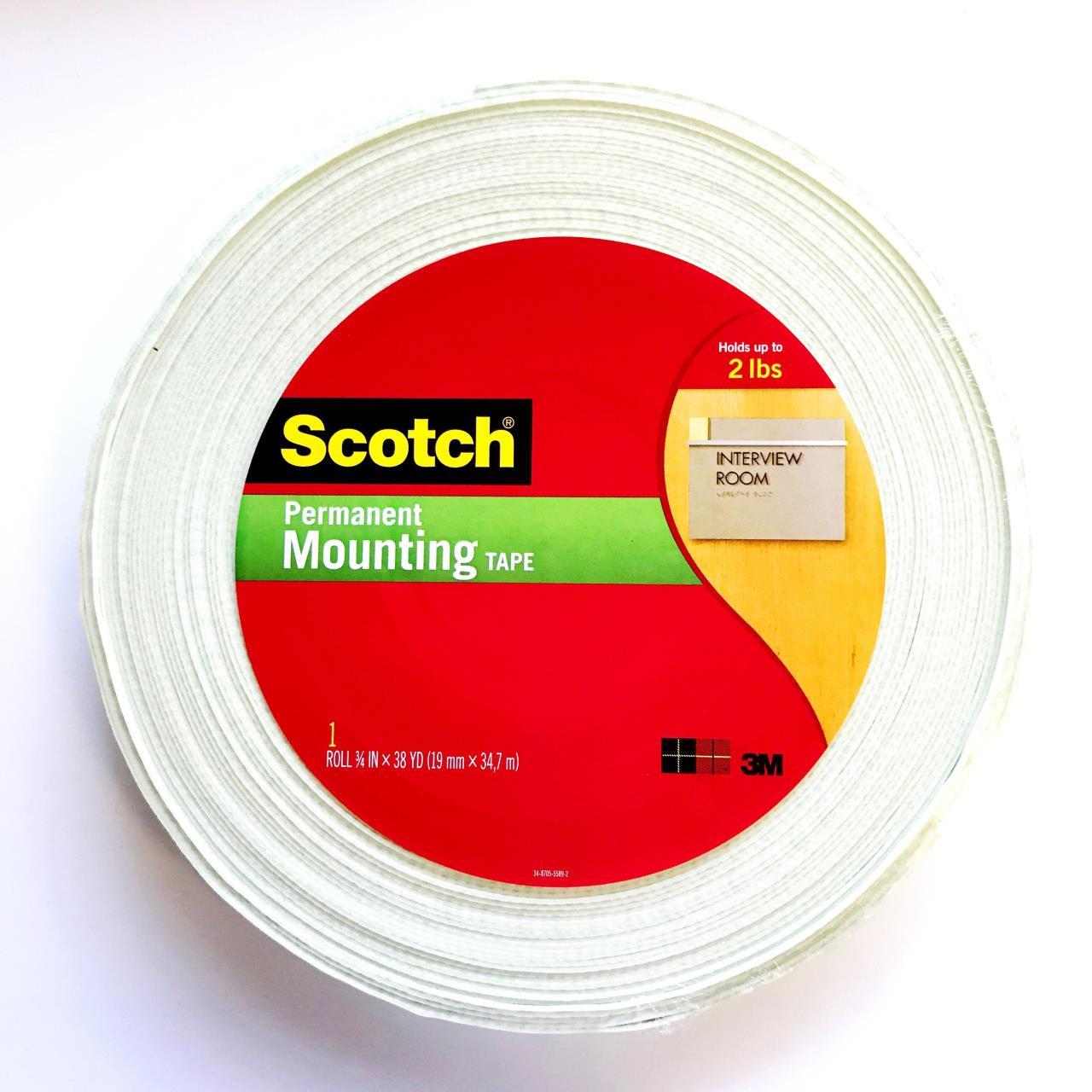 Scotch Foam Mounting Tape - 051131947504