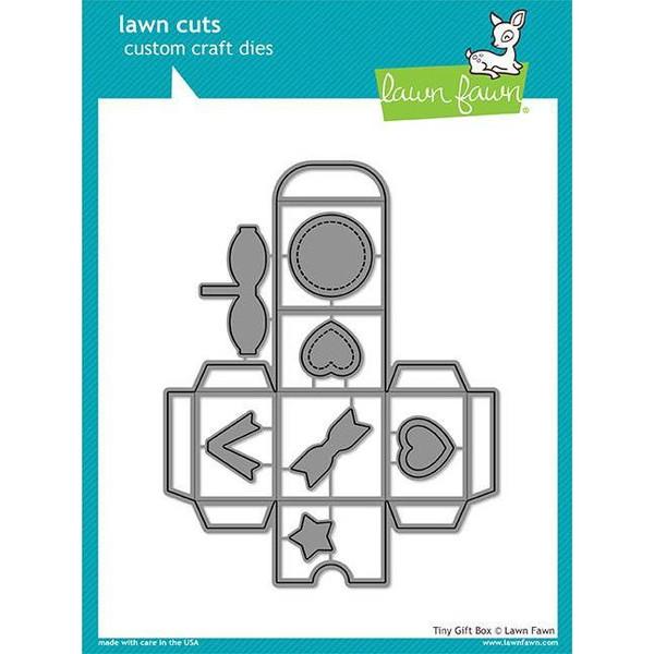 Tiny Gift Box, Lawn Cuts Dies - 035292668485