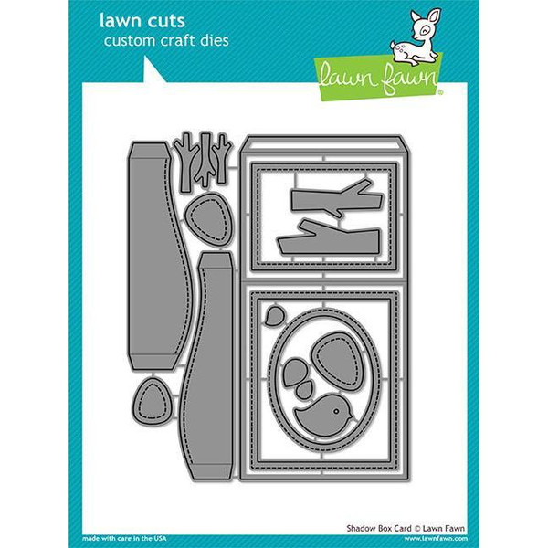 Lawn Cuts Dies, Shadow Box Card - 035292668492