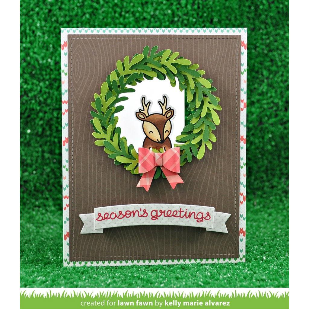 Lawn Cuts Dies, Large Wreath - 035292668607