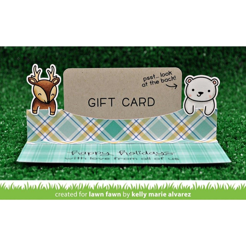 Lawn Cuts Dies, Gift Card Pop-Up - 035292668621