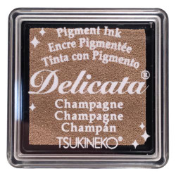 Delicata Small Ink Pad, Champagne -