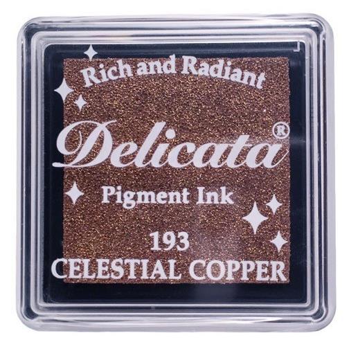 Delicata Small Ink Pad, Celestial Copper -