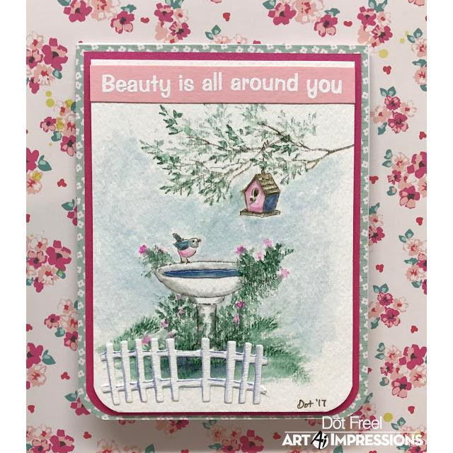 Watercolor Branches, Art Impressions Cling Stamps - 750810793721