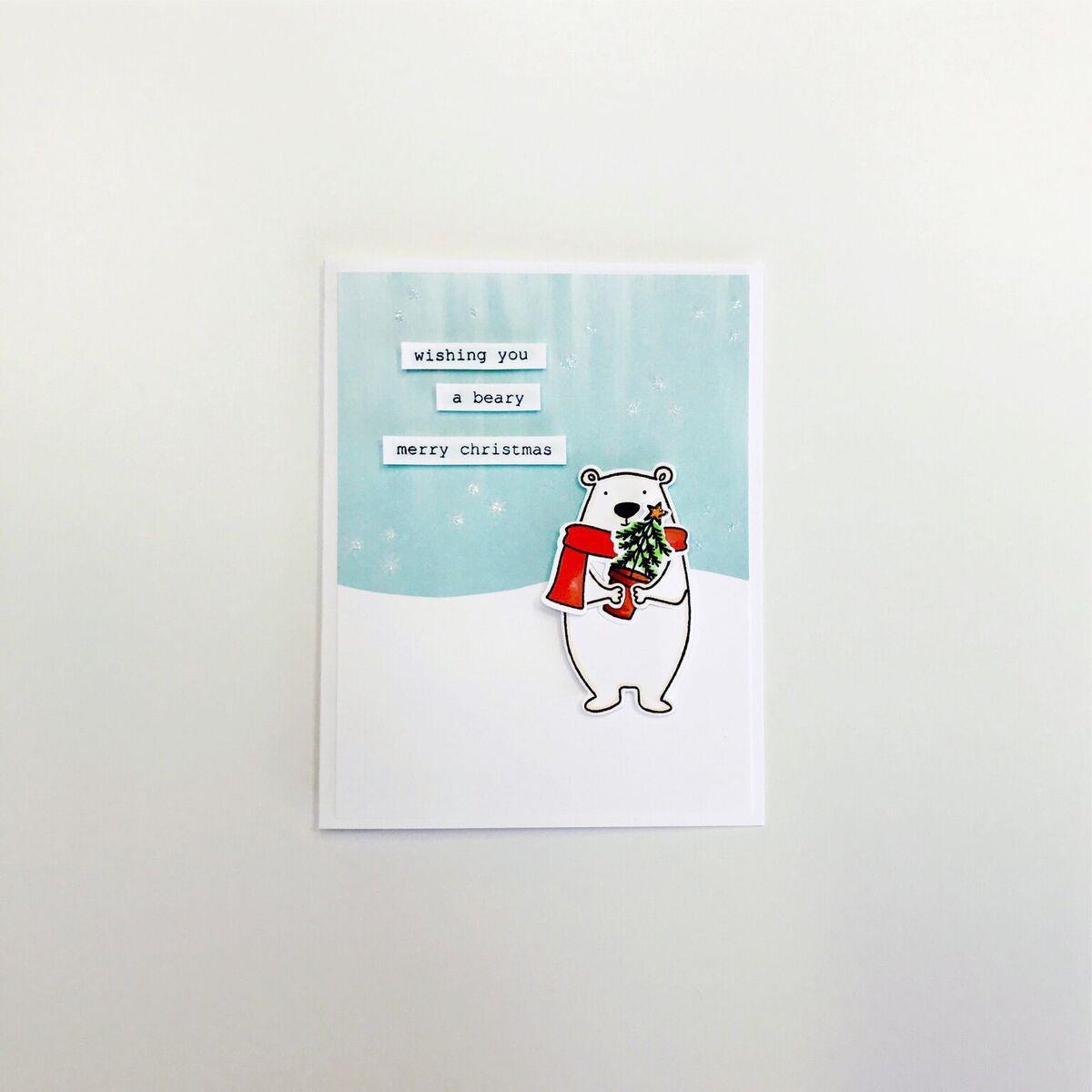 Essentials by Ellen Clear Stamps, Bear Ware 2 by Julie Ebersole -