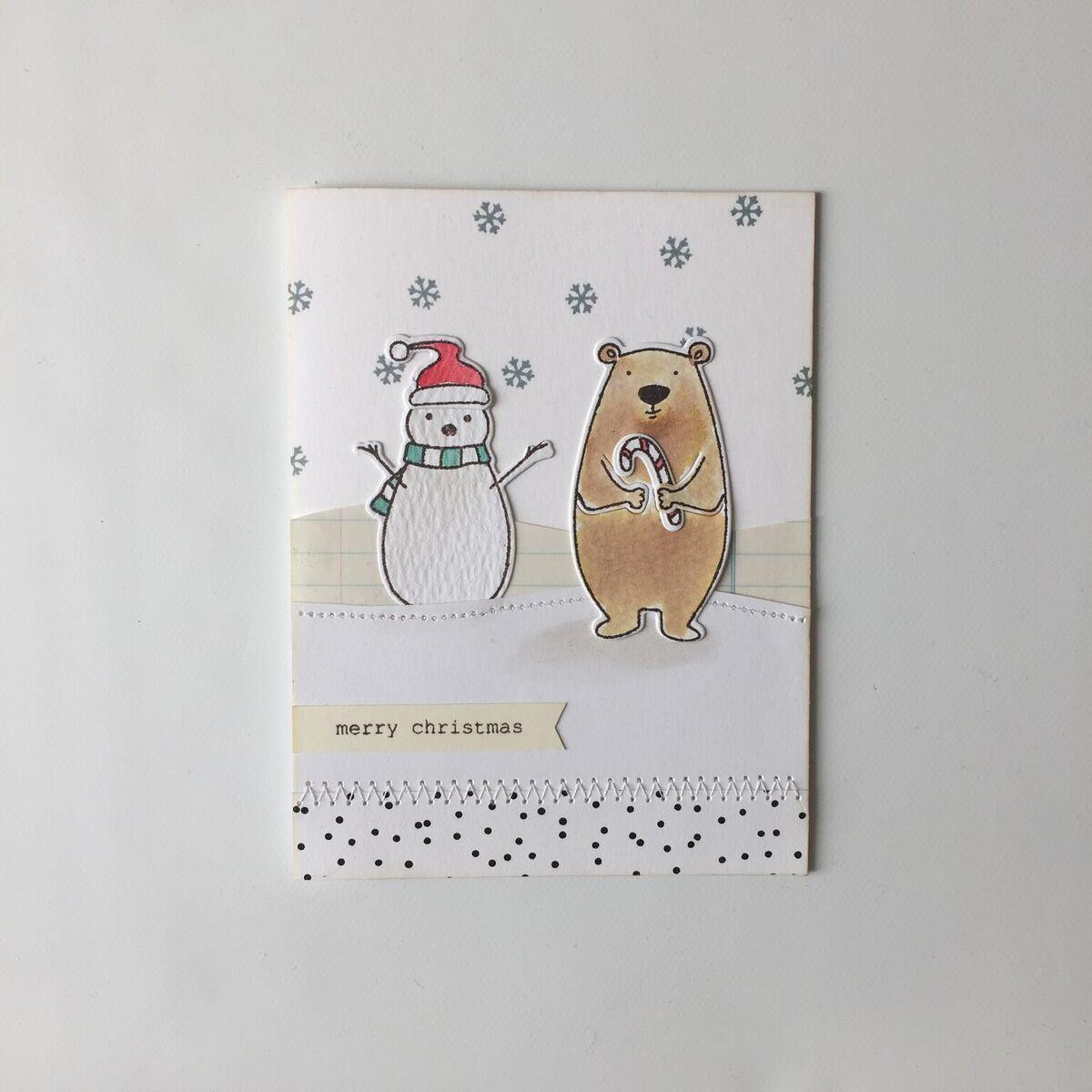 Bear Ware 2 by Julie Ebersole, Essentials by Ellen Clear Stamps -