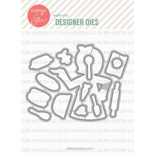 Essentials by Ellen Designer Dies, Leading Ladies - Baker Lady by Brandi Kincaid -