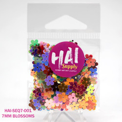 HAI Sequins, 7mm Cherry Blossom -