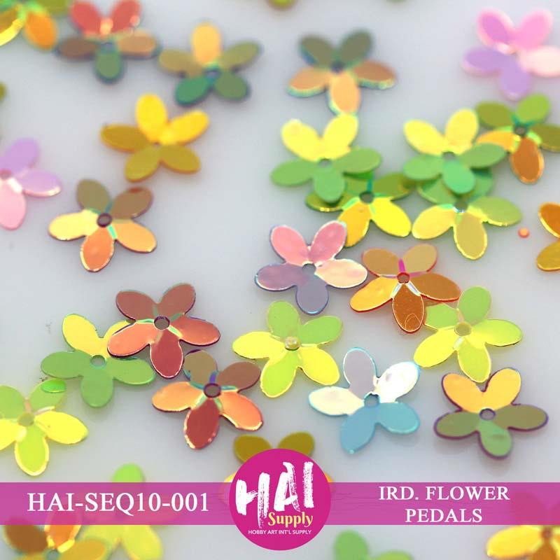 HAI Sequins, 10mm Flower -