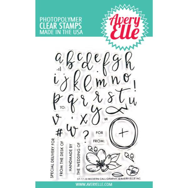 Avery Elle Clear Stamps, Modern Calligraphy - 811568025929